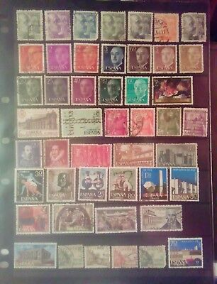Stamps Used Mm Spain B