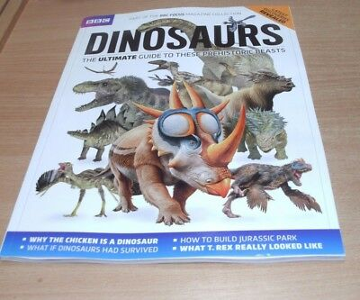 BBC Focus magazine Collection Dinosaurs 2017 Ultimate Guide to Prehistoric Beast