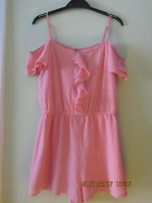 Girls Playsuit from New Look in Peachy/Pink Colour - Age 10 Years