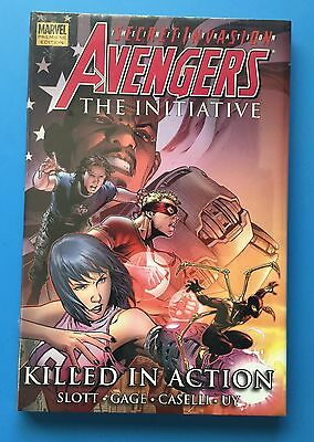 Avengers The Initiative Vol # 2 Killed In Action (Hb Gn Premiere Edition) Sealed