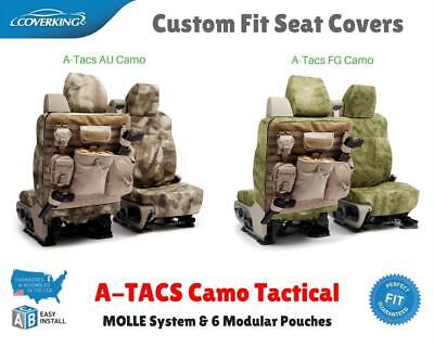 A-TACS CAMO TACTICAL CUSTOM FIT SEAT COVERS for NISSAN LEAF