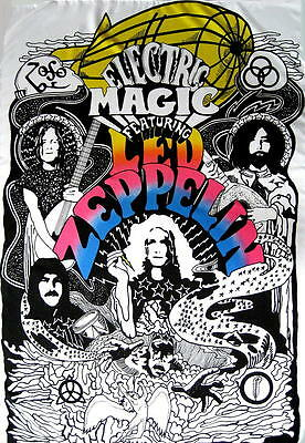 Led Zeppelin Flagge Fahne Posterflagge Electric Magic Swansong