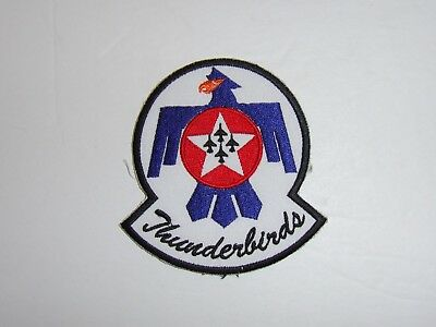 b2329 USAF Thunderbirds  Demonstration Team patch small Air Force IR19C