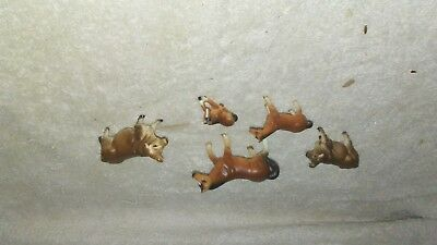 Lot of vintage made in Japan bone china horses & cows, take a look