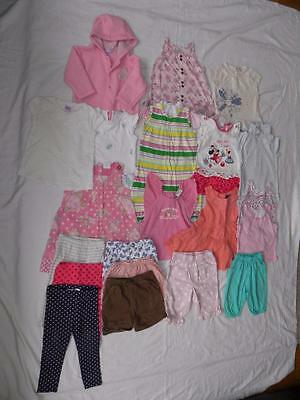 Girls Clothing Bundle for Girl Aged 12- 18 months. Various brands goodS (BR-GB7)