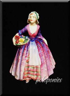ROYAL DOULTON Janet HN1538 - Retired 1949- Rare Color
