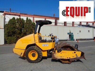 2010 Dynapac CA134PDB Single Drum Vibrating Roller Compactor - Only 1042 Hours