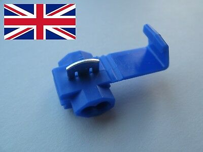 SCOTCH LOCK - QUICK CRIMP SPLICE CONNECTOR - BLUE 1.5 to 2.5 mm² - 16-14 AWG UK