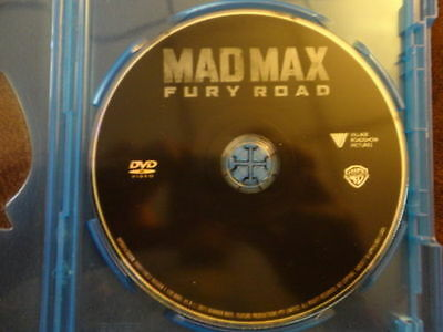 Mad Max: Fury Road, DVD Disc ONLY, 2015 ( NO 3D, Blu-ray, or UltraViolet) Read