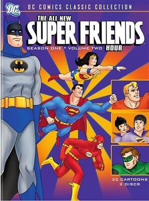 THE ALL-NEW SUPER FRIENDS HOUR SEASON ONE 1 VOLUME TWO 2 New Sealed 2 DVD Set
