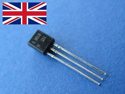 Transistor - Various Quantity - Many Types - 2N2222 S8550 A1015 S9014 S8050 - UK