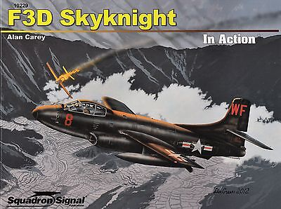 20087a/ Squadron Signal - In Action 229 - Douglas F3D Skyknight - TOPP HEFT