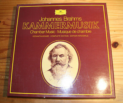 BRAHMS Complete Chamber Music 15-LP-Box DG