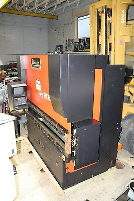 Amada Promecam HFB 8025 8 Axis CNC Press Brake 88 Ton x 8'