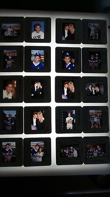 Corey Haim W/ Celebrities Vintage Lot Of 35Mm Slide Transparency Photo #1