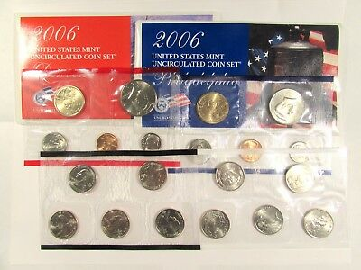 2006 P&D US Mint Uncirculated 20 Coin Set - SEALED Original Government Packaging
