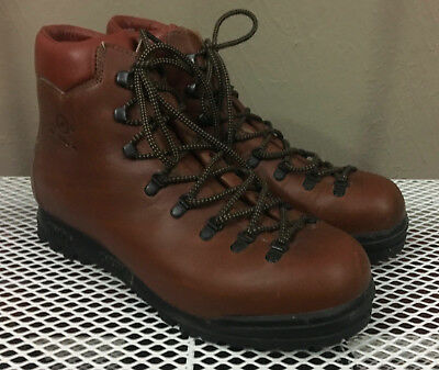 VTG DEADSTOCK Made in Italy Scarpa Attak Hiking  Boots 11 D 45 EURO BX NWOB MINT
