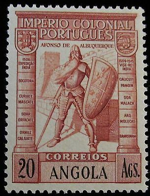 Portuguese Angola,1938, 20 angolars (Ags) red brown (SC291),MNH