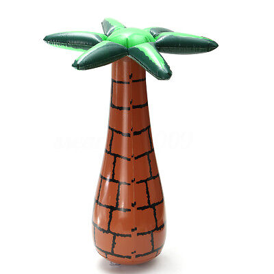 """Inflatable #Tropical Coconut Palm Tree 18"""" Fancy Dress Party Fun Accessory"""