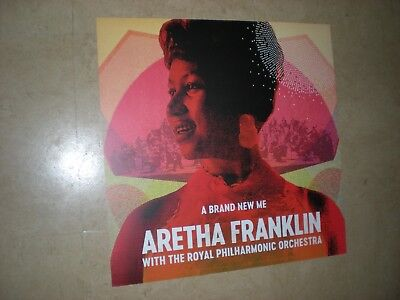 POSTER by ARETHA FRANKLIN brand new me Promo For the album cd ROYAL PHILHARMONIC