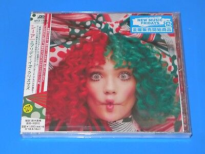 2017 JAPAN SIA EVERYDAY IS CHRISTMAS CD w/BONUS TRACK FOR JAPAN ONLY