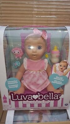 Luvabella Blonde Interactive Doll Spinmaster Brand New No1 Girls Christmas Toy