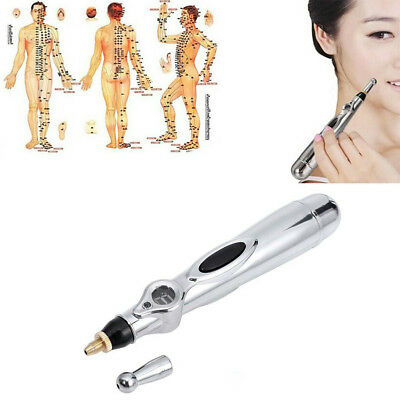 Safe Pen Electronic Acupuncture Meridian Energy Heal Massage Pain Relief