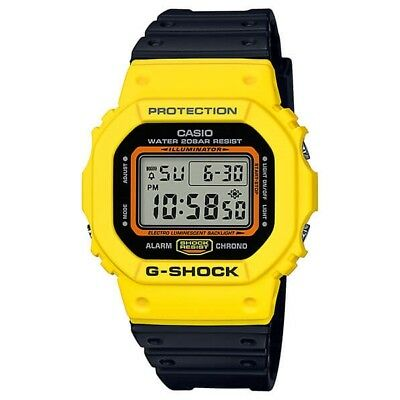4843a16638751a CASIO G-SHOCK DW-5600TB-1 Orologio da Uomo Digitale Throwback 80's ...