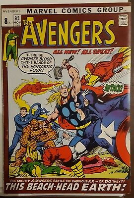 AVENGERS # 93 , (1st SERIES / NOVEMBER 1971 / FN+ / Pence Copy)