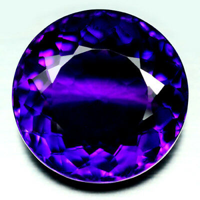 25.82 Ct Aaa! Purple Clr Change To Pink Brazilian Amethyst Round