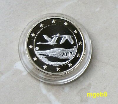 FINNLAND 2017 - 1 Euro in  PP / Proof aus KMS