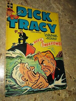 Dick Tracy Monthly (1948-1961) #68 Golden Age Mid Grade