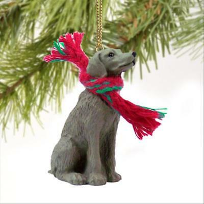 Weimaraner Dog Tiny One Miniature Christmas Holiday ORNAMENT