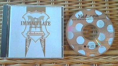 Madonna The Immaculate Collection Cd (Greatest Hits / Very Best Of)**mint Cd**