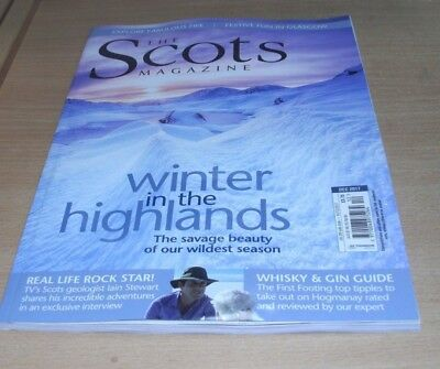 The Scots magazine DEC 2017 Winter in the Highlands, Iain Stewart, Whisky & Gin