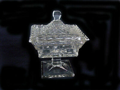 """Fostoria American - Square Covered 8"""" Wedding Bowl-Mint Condition-High Quality!"""