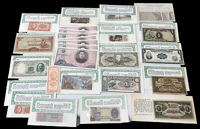 Lot (29) Mixed World Paper Money Collection - So Many Different Countries!