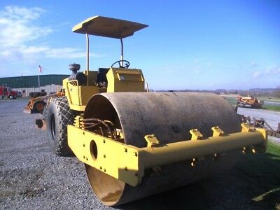 "Sakai SV91D 84"" Vibratory Smooth Drum Roller Compactor, Good Operating Condition"