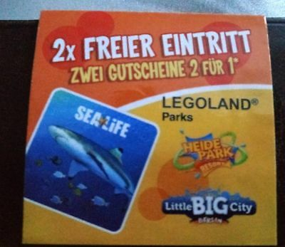 2x 2f r1 gratis gutschein heide park sea life legoland gardaland madame tussauds eur 1 00. Black Bedroom Furniture Sets. Home Design Ideas