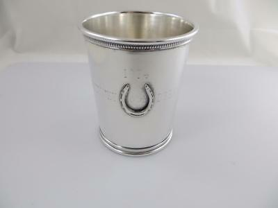 1974 Mint Julep Cup Reed & Barton X 253 Sterling Silver 100th Kentucky Derby RMN