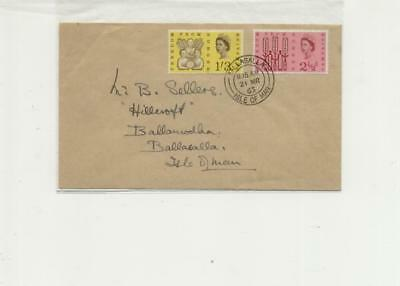 Isle of Man, Ballasalla cancelled 1963 Freedom from Hunger FDC