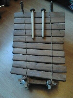 Balafon -Traditional African wooden Xelophone - Folk/World Percussion Instrument