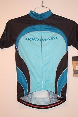 Bontrager Race Lite Fit Short Sleeve Women s Jersey LARGE BLUE BLACK NEW d07941529