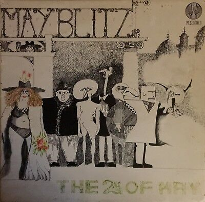 "MAY BLITZ ""THE 2nd of MAY"" 1971 VERTIGO SWIRL GATEFOLD 6360 037"