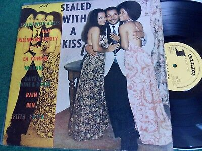 Ray Sylvester Orchestra – Sealed With A Kiss (Lp,Village Rec., 1973,US) Calypso