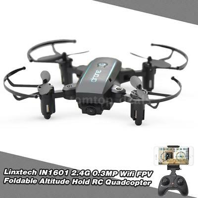 Hot Sale Linxtech IN1601 2.4G 0.3MP Wifi Altitude Hold RC Drone Quadcopter K7A9