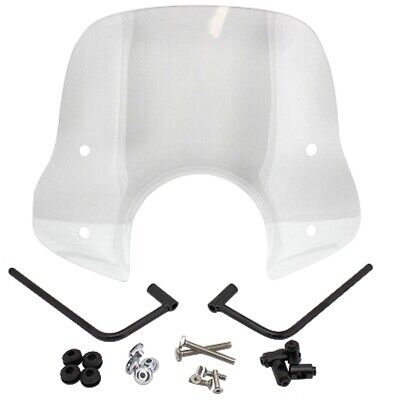 Screen Windscreen with Installation Material for Scooter Type Vespa Universal