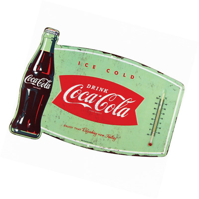 Metal Sign Coca Cola Thermometer