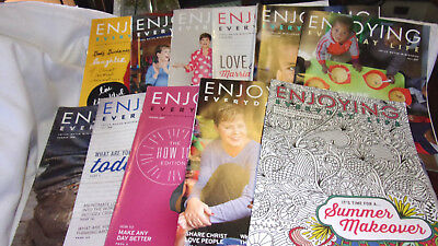 11 Back Issues- Enjoying Everyday Life- By Joyce Meyer Ministries- Good Used!