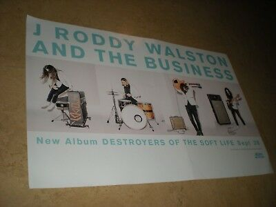 POSTERS by J RODDY WALSTON and the business Destoryers of the Soft Life PROMO